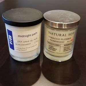 Set of 2 Soy Candles